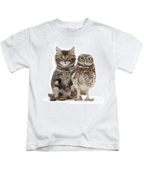 Owling And Yowling Kids T-Shirt