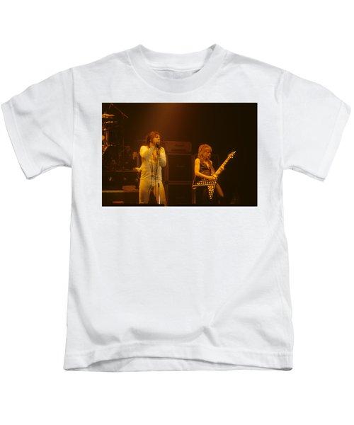 Ozzy Ozbourne And Randy Rhoads Kids T-Shirt
