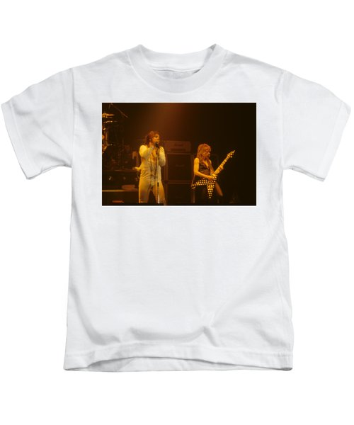 Ozzy Ozbourne And Randy Rhoads Kids T-Shirt