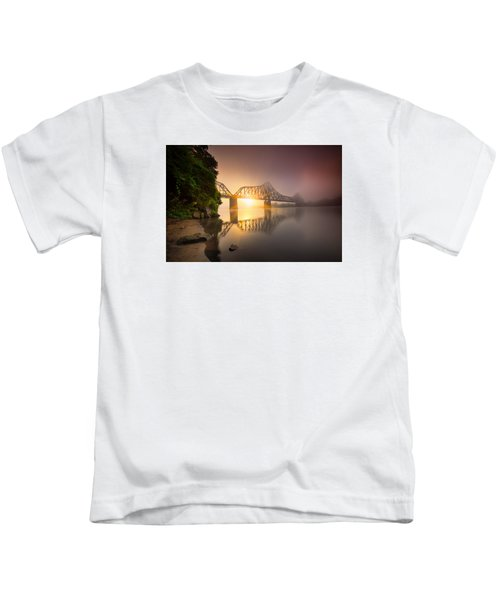 Railroad Bridge Kids T-Shirt