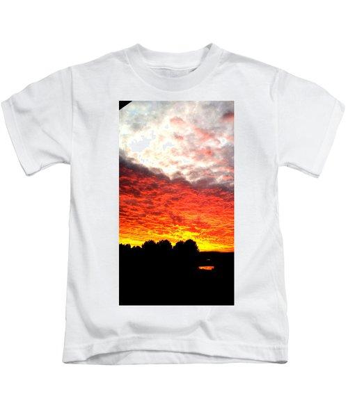 Pacific Coast Skies Kids T-Shirt