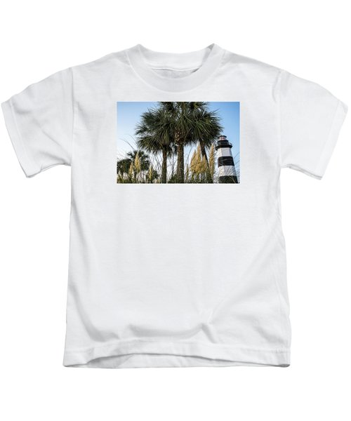 Palms At Lightkeepers Kids T-Shirt