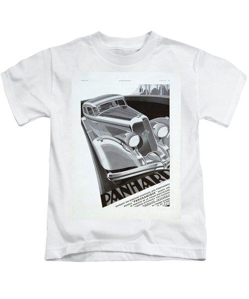 Panhard #8710 Kids T-Shirt