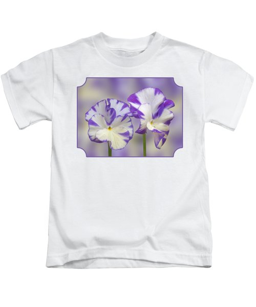 Pansy Faces Kids T-Shirt