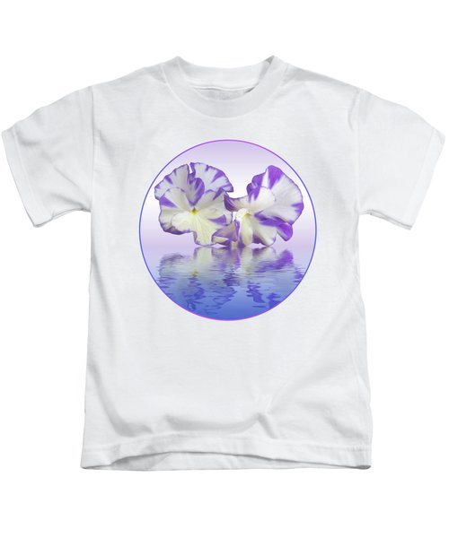 Pansy Reflections Kids T-Shirt