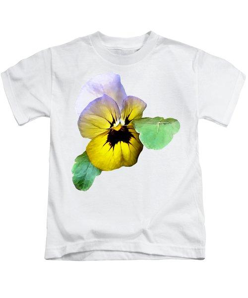 Pansy Saluting Kids T-Shirt