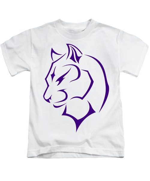 Panther Kids T-Shirt by Frederick Holiday