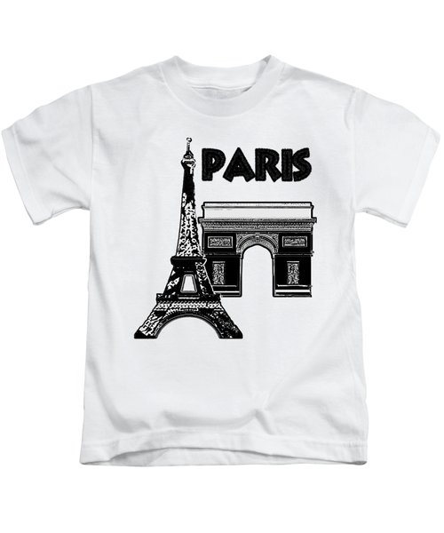 Paris Graphique Kids T-Shirt