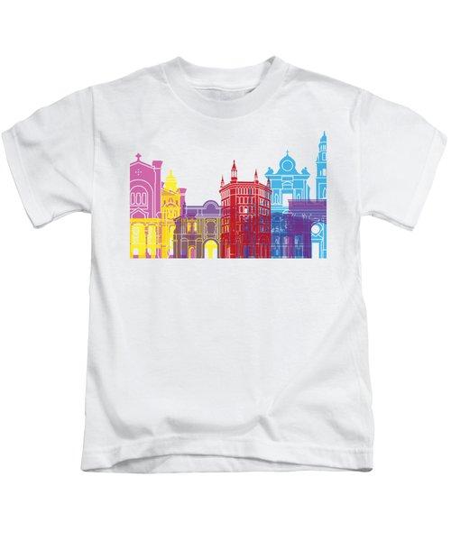 Parma Skyline Pop Kids T-Shirt