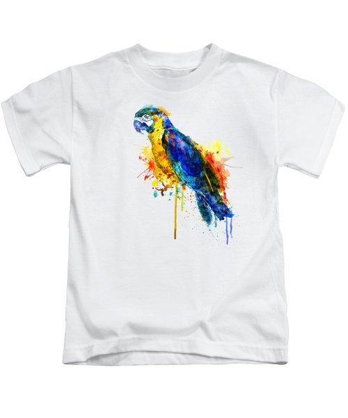 Parrot Watercolor  Kids T-Shirt