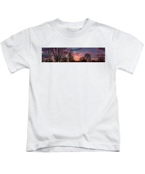 Pastel Sunrise Kids T-Shirt
