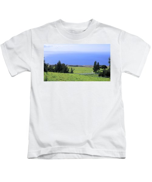 Pasture By The Ocean Kids T-Shirt