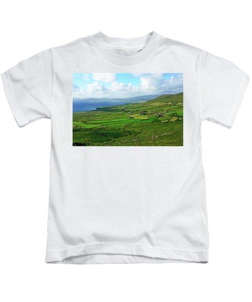 Patchwork Landscape Kids T-Shirt