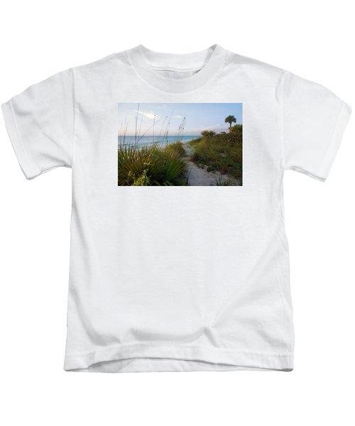Pathway To Barefoot Beach  In Naples Kids T-Shirt