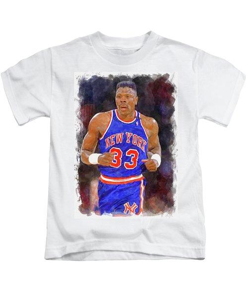 Patrick Ewing Paint Kids T-Shirt