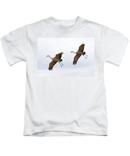 Pattern Of Two Kids T-Shirt
