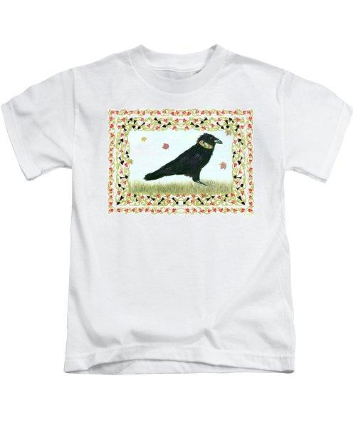 Pawn In Autumn Kids T-Shirt