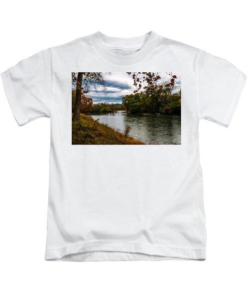 Peaceful River Kids T-Shirt