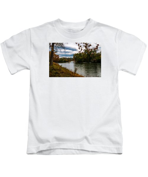 Peaceful River Kids T-Shirt