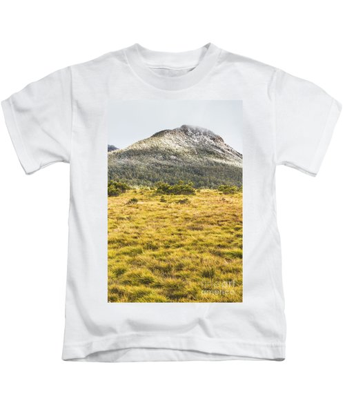 Peaks And Plateaus Kids T-Shirt