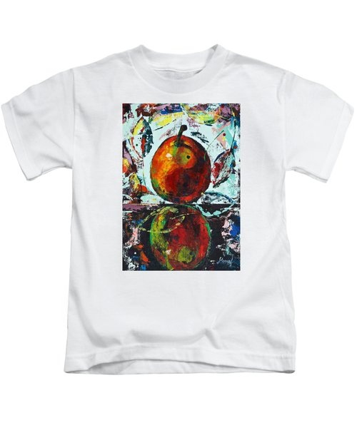 Pear And Reflection Kids T-Shirt