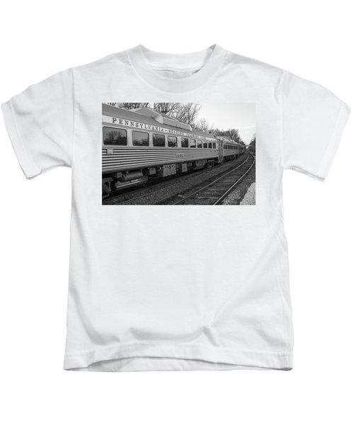 Pennsylvania Reading Seashore Lines Train Kids T-Shirt