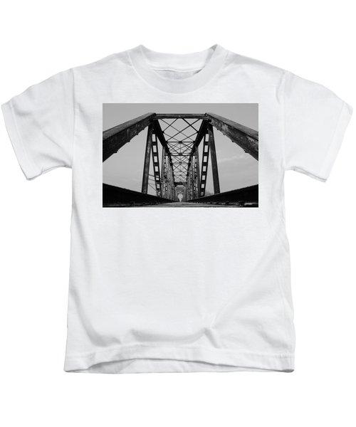 Pennsylvania Steel Co. Railroad Bridge Kids T-Shirt