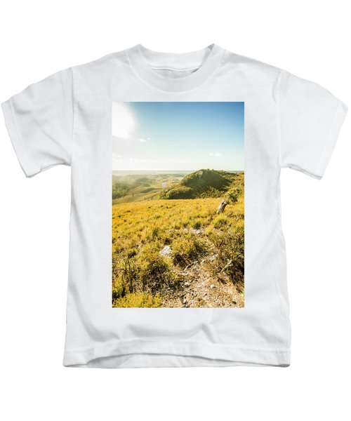 Picture Perfect Pastures Kids T-Shirt