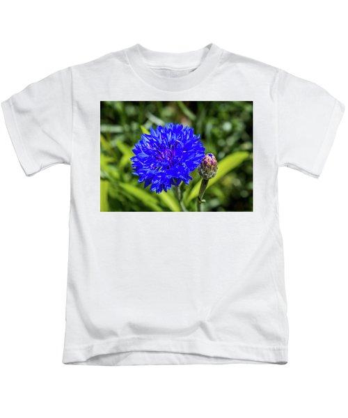 Perky Cornflower Kids T-Shirt