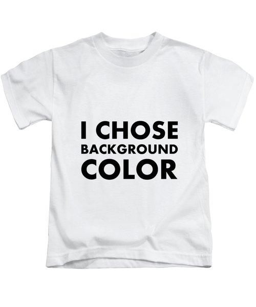 Personal Choice Kids T-Shirt