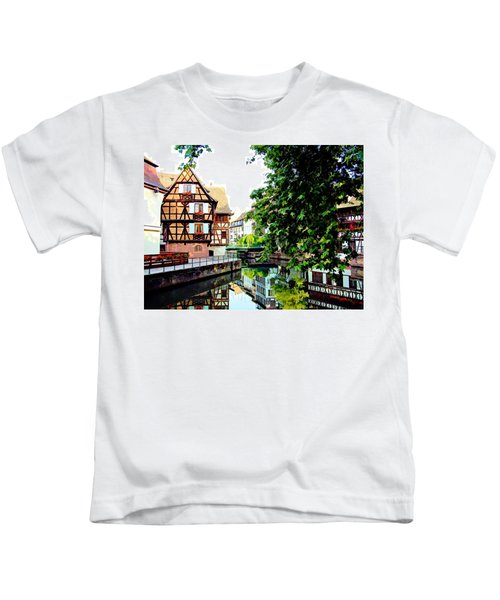Petite France - Strassbourg, France Kids T-Shirt