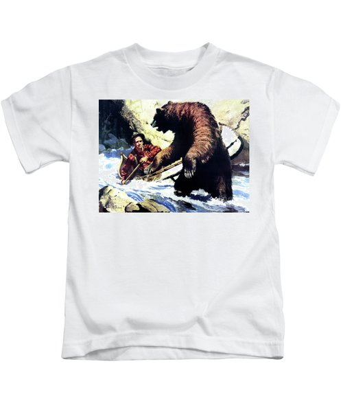 Pg- Dangerous Waters Kids T-Shirt