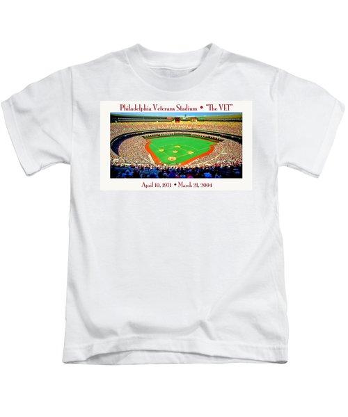 Philadelphia Veterans Stadium The Vet Kids T-Shirt