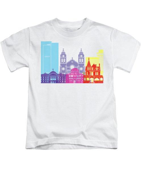 Phoenix Skyline Pop Kids T-Shirt