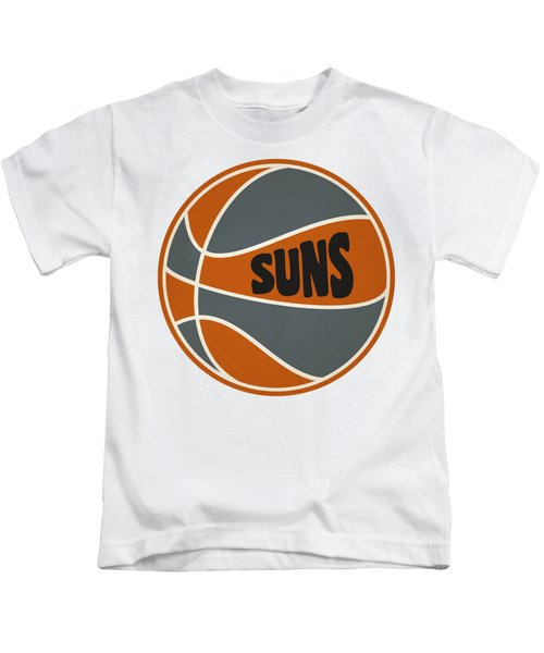 Phoenix Suns Retro Shirt Kids T-Shirt by Joe Hamilton