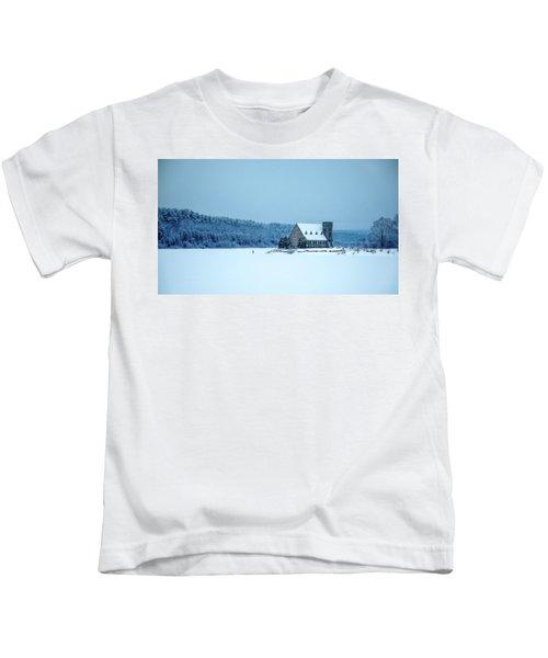 Photographer On Thin Ice Kids T-Shirt