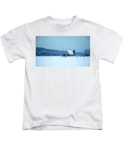 Photographer On Thin Ice Kids T-Shirt