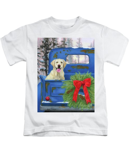 Pick-en Up The Christmas Tree Kids T-Shirt