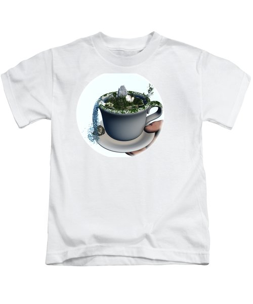 Piece Of Nature Cup Kids T-Shirt