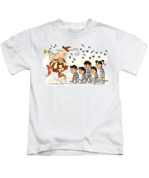 Pied Piper Trump And Infestation Kids T-Shirt