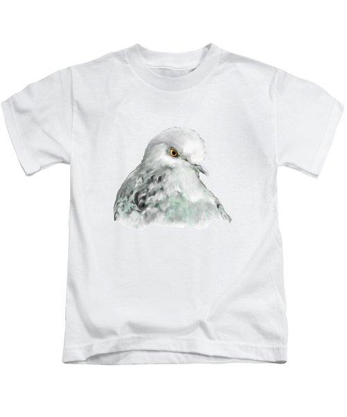Pigeon Kids T-Shirt by Bamalam  Photography