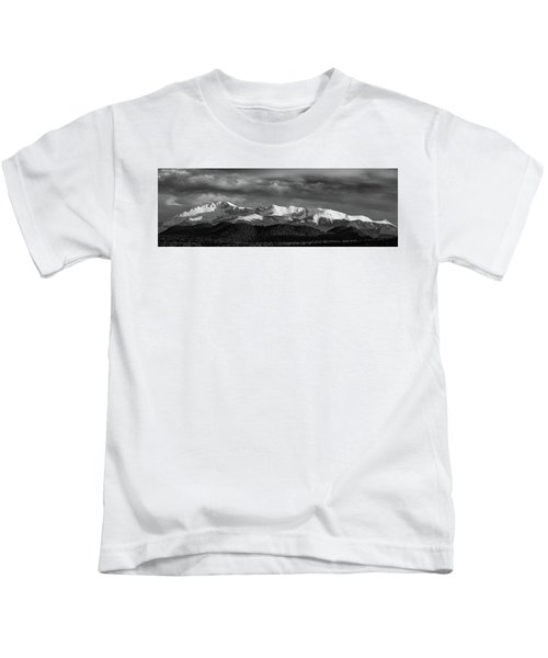 Pike's Peak Or Bust Kids T-Shirt