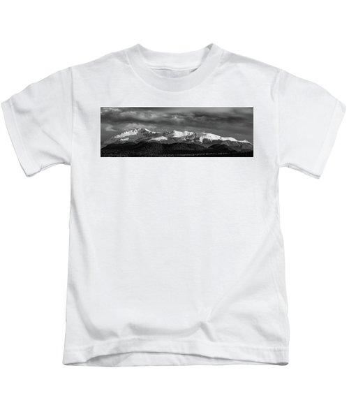 Pike's Peak Or Bust Kids T-Shirt