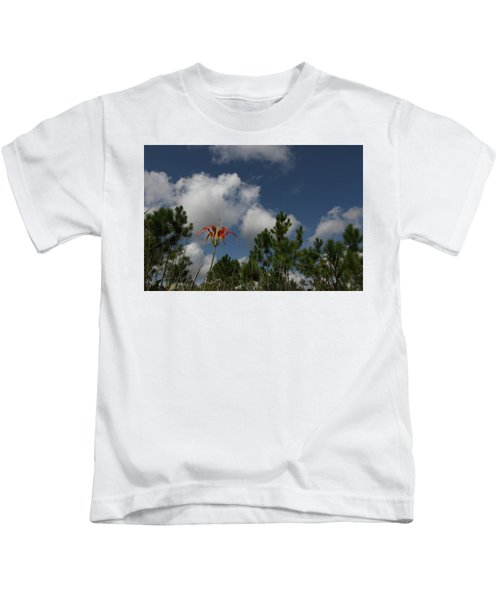 Pine Lily And Pines Kids T-Shirt