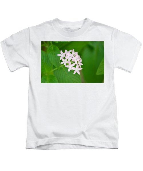 Pink Stars Kids T-Shirt