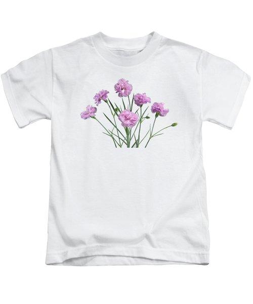 Pinks On Slate Kids T-Shirt