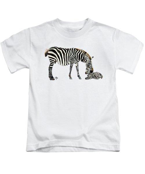 Plains Zebras Kids T-Shirt