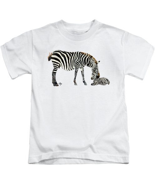 Plains Zebras Kids T-Shirt