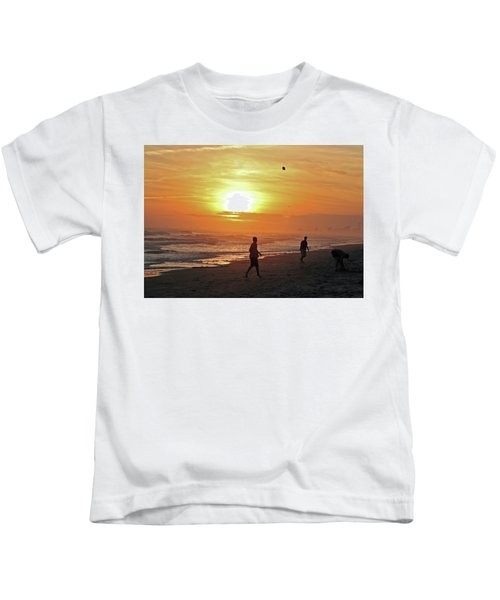 Play On The Beach Kids T-Shirt