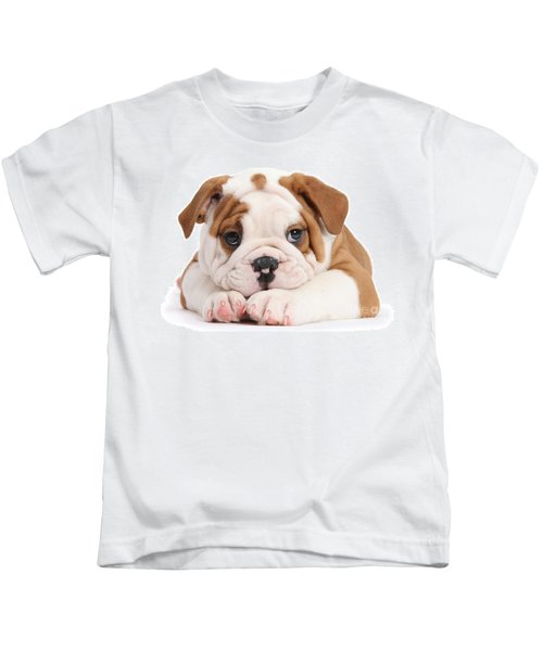 Po-faced Bulldog Kids T-Shirt
